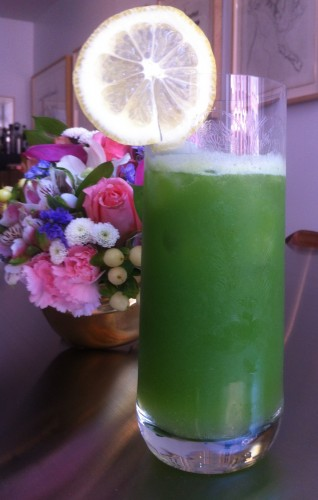 Springtime in a glass.