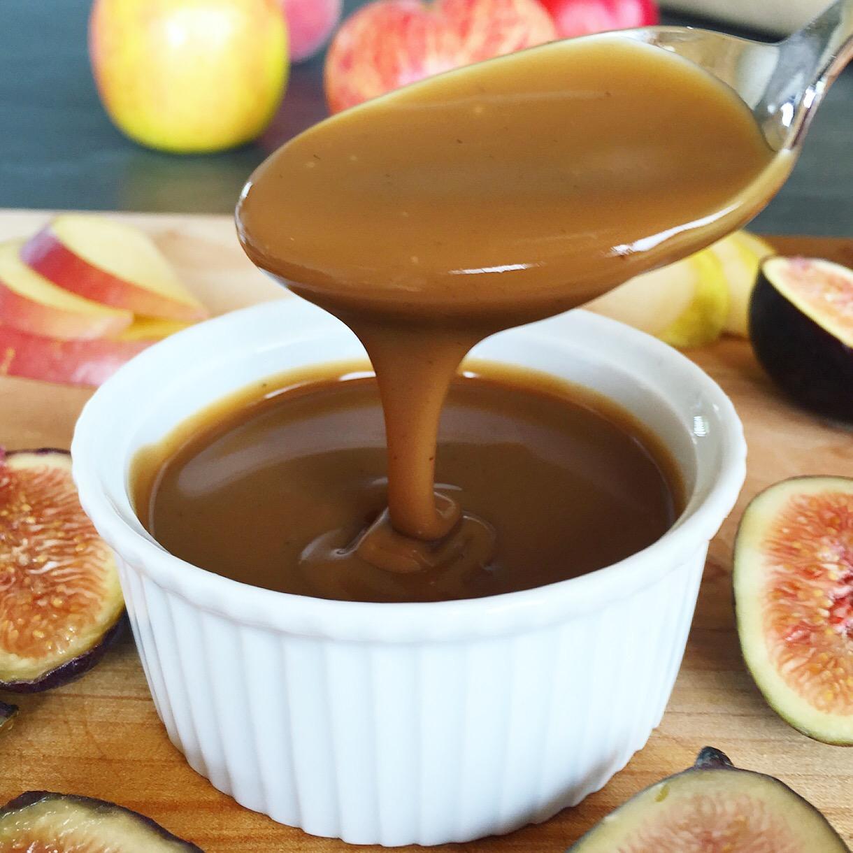 Spiced Coconut Dulce de Leche Vegan Caramel Sauce