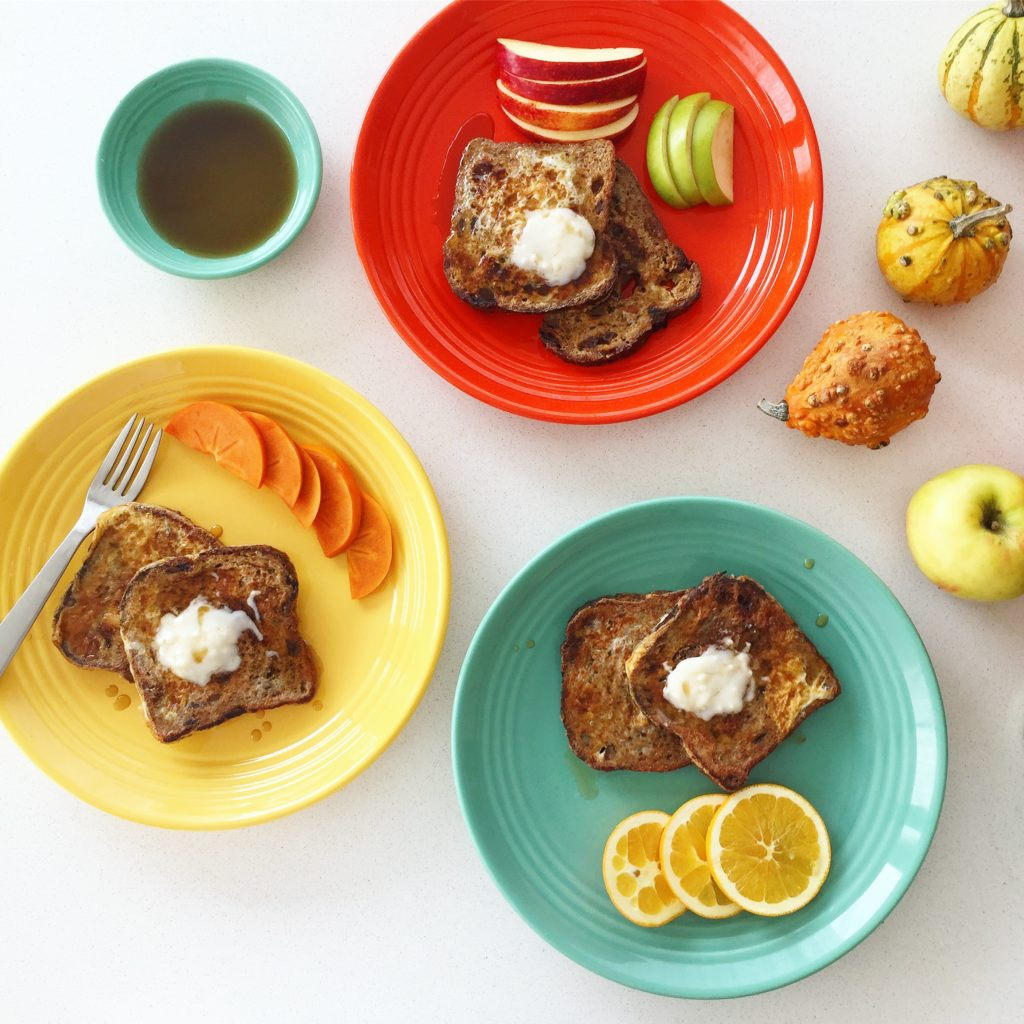 Pumpkin Spice French Toast with Coconut Butter Recipe